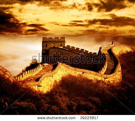 china great wall by fotohunter