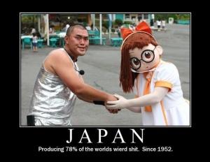japan weird since 1952