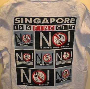 singapore fine city