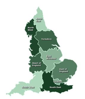 England regions