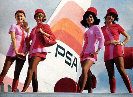 Pacific Southwest Airlines, USA, 1970s