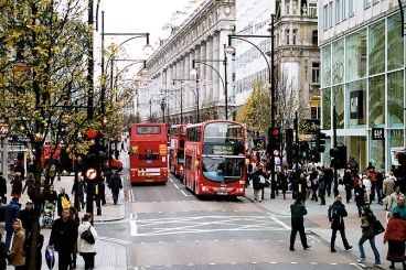 london oxford street in 2006