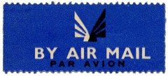 airmail label