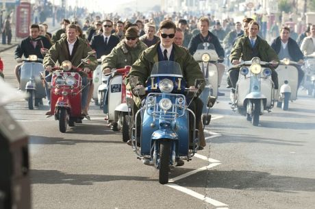 quadrophenia mod bikers