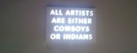 artists are cowboys or indians 1