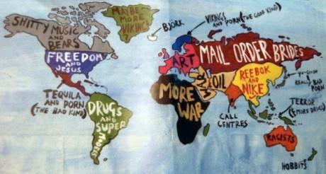 bias world map