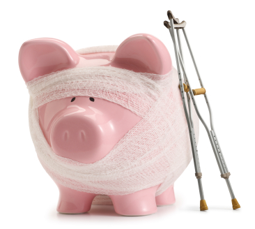 sick piggybank