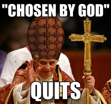 pope chosen by god quits w83fxtc