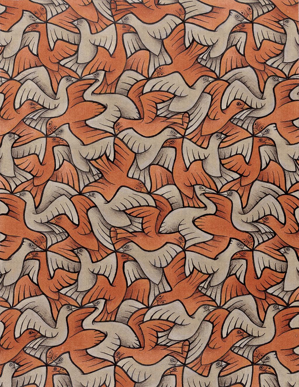 tnl wall mc escher birds tessellations 885378   The Naked