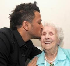 ivy bean with peter andre