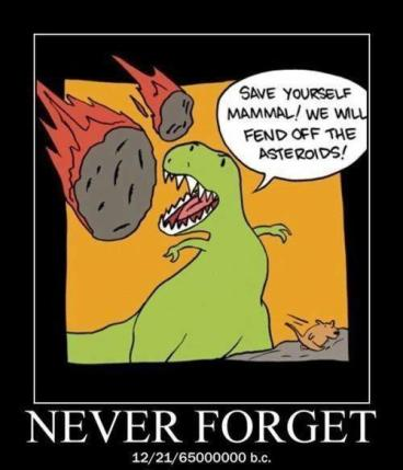 meteor dinosaurs