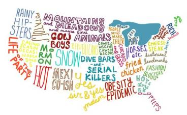 america according to rest of the world
