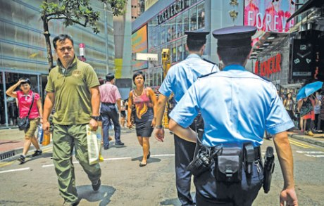 hong kong police kuwait times