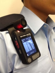 Body Worn Video Camera (BWVC) of the Hong Kong Police Force