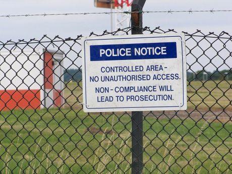 police notice bradford-leeds airport 2010