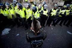 punk vs police