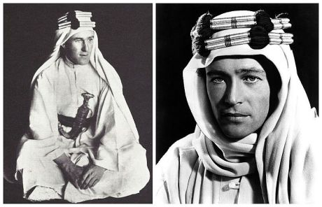 lawrence of arabia real vs otoole