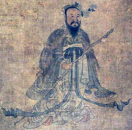 Qu Yuan by Chen Hongshou via wikipedia