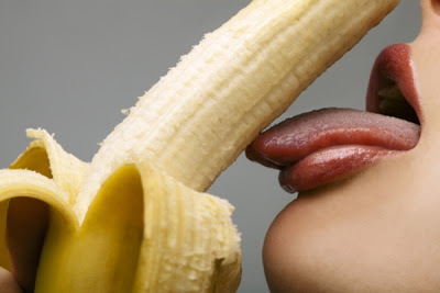 banana lick