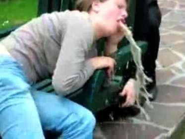 french girl vomits ratemyvomitdotcom