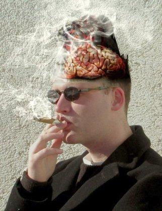 smoking brain damage
