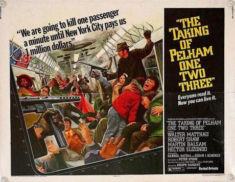 the taking of pelham one two three 1974 poster