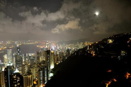 hong kong moon small