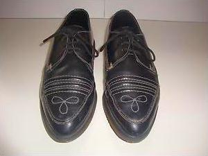shelleys brothel creepers 1980s rockabilly