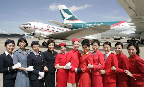 Cathay Pacific, Hong Kong's flag carrier