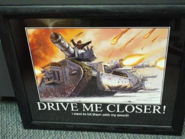 demotiv drive me closer kill with sword