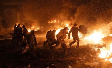 ukraine riots 2014