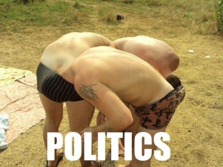 Politics, summarised (via Imgur)