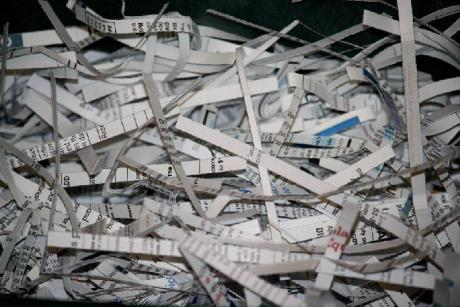 shredded paper documents via www.photos-public-domain.com