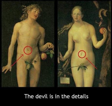 demotiv adam and eve