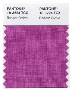 Pantone 18-3224 TCX Radiant Orchid
