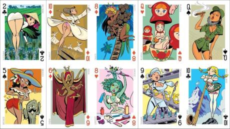 risque playing cards (via sharenator.com)