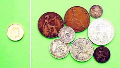 edwardian coins 1900s