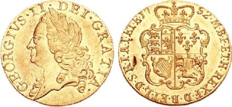 George II guinea 1752 wikipedia