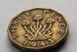threepence 1943