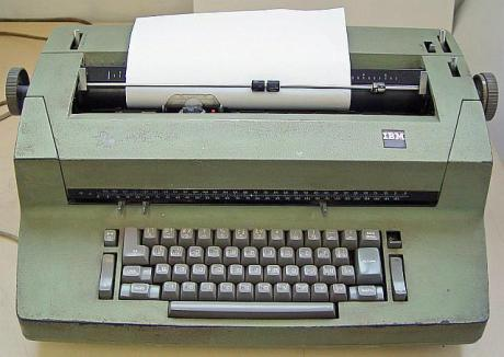 IBM Selectric II typewriter via Wikipedia