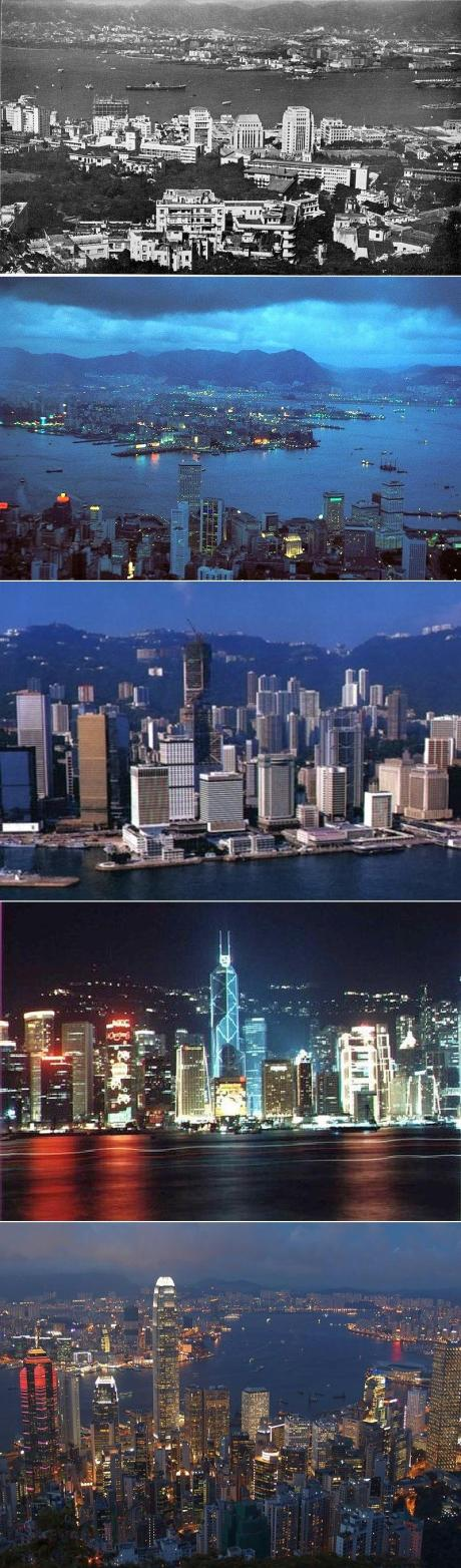 hong kong 1960s to 2000s