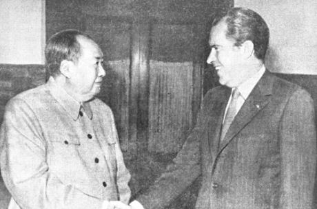 Mao and Nixon, 25 Feb 1972