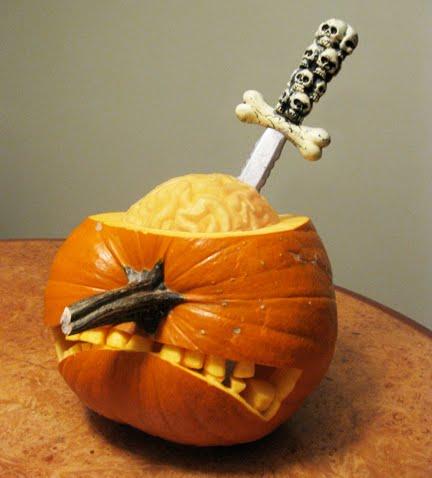 pumpkin lobotomy
