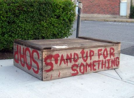 soapbox stand up for something