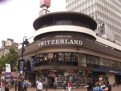 swiss centre london by matt brown
