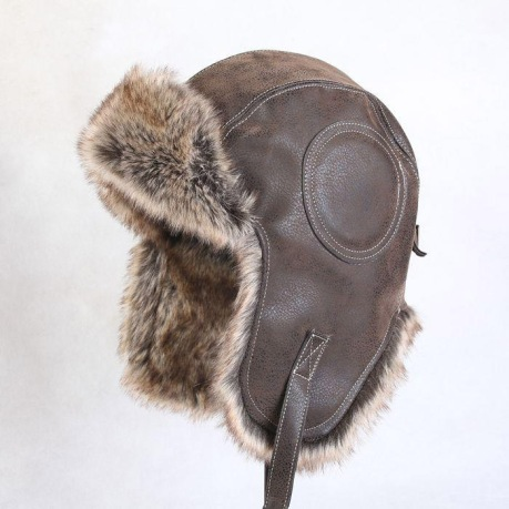 bomber hat with fur lining
