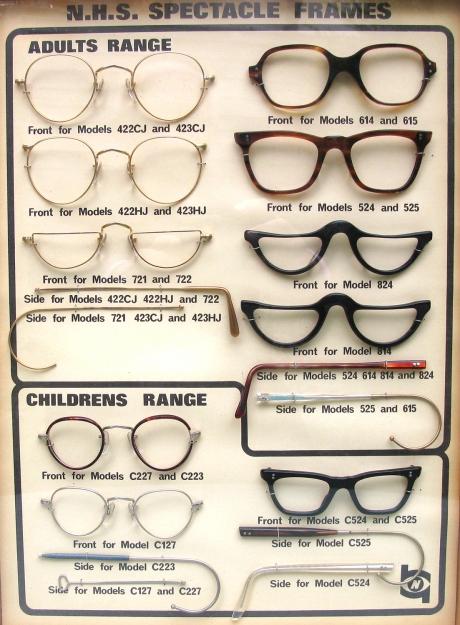 British NHS eyewear