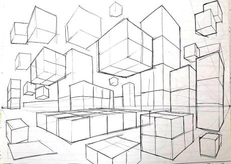 perspective cubes 1513402489555