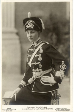 HRH Princess Victoria Luise of Prussia, daughter of Kaiser Wilhelm II
